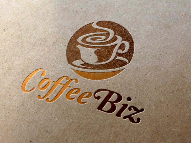 CoffeeBiz Logo Template
