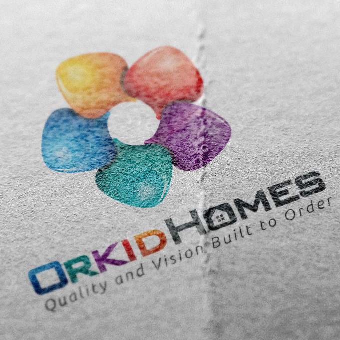 Orkid Homes Logo Design